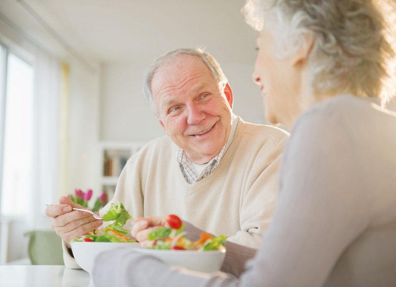 Правильное питание в пожилом возрасте
