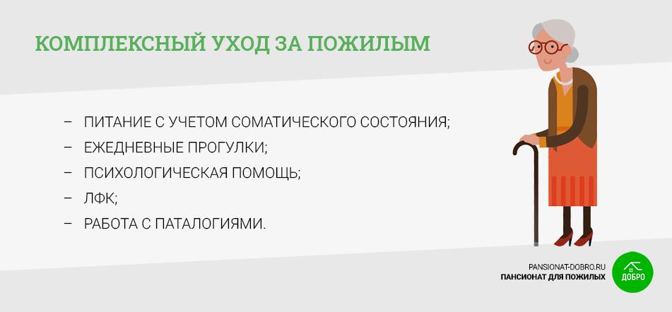 Уход в доме для пожилых в Ростове-на-Дону