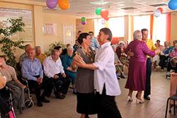 танцы в дом престарелых